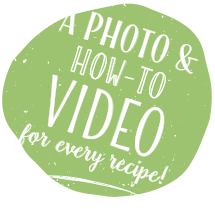 A photo & how-to Video for every recipe